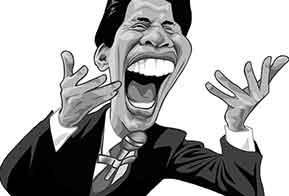 Silvio Santos faz 84 anos e ganha de presente mostra de caricaturas
