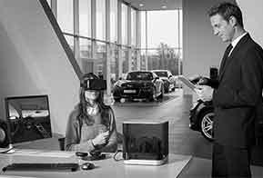 Realidade virtual ajuda clientes a configurar carros da Audi