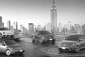 VW apresenta quatro novos Fuscas no Salão de New York