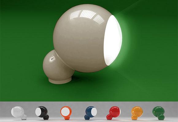 Luminária concebida pela Quadrante Design na edição do Design Export de 2015 para a Femarte exportar para os EUA
