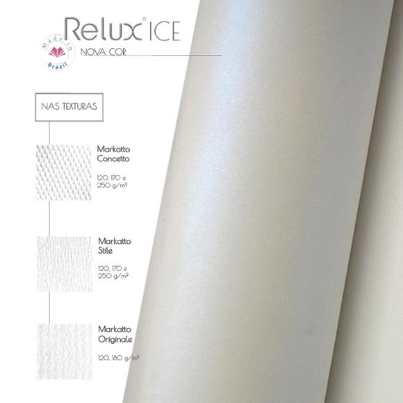 Linha Relux, que se destaca pelo brilho metálico, ganha nova versão Texture