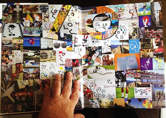 Livro lançado hoje pela Crama trás recriações da marca comemorativa Rio450