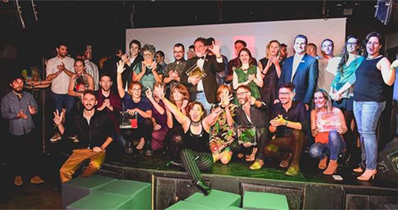 Premiados no Salão Design comemoraram a vitória em Bento Gonçalves