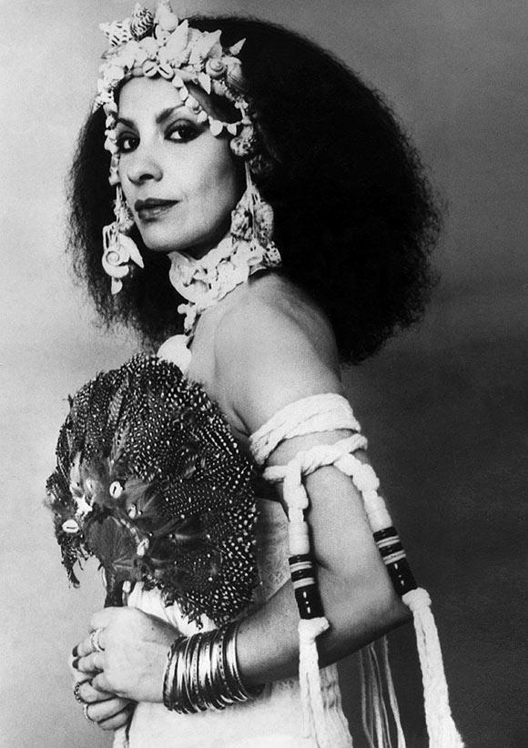 Clara Nunes, uma das mais poderosas vozes do samba (Foto: Arquivo Estadão Conteúdo)