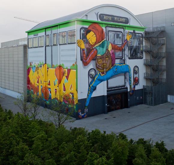 O projeto, que será realizado entre 2016 e 2018, mostrará formas inovadoras de arte em espaços públicos