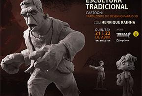 Workshop da ICS ensina a criar esculturas tradicionais