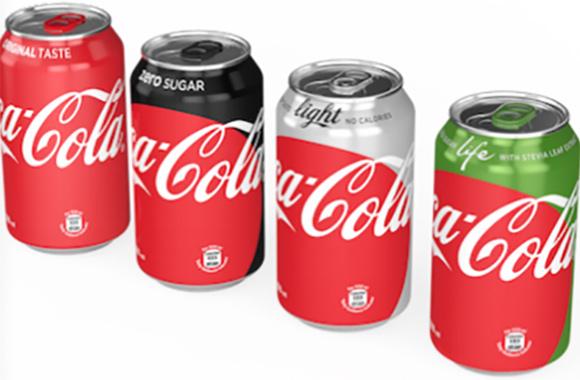 Novas embalagens globais vão facilitar a escolha das diferentes opções de Coca-Cola