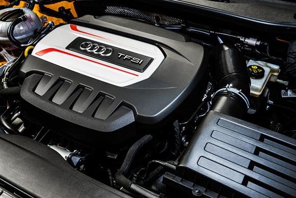 A eficiência do motor pode ser atribuída às tecnologias altamente efetivas desenvolvidas pela Audi