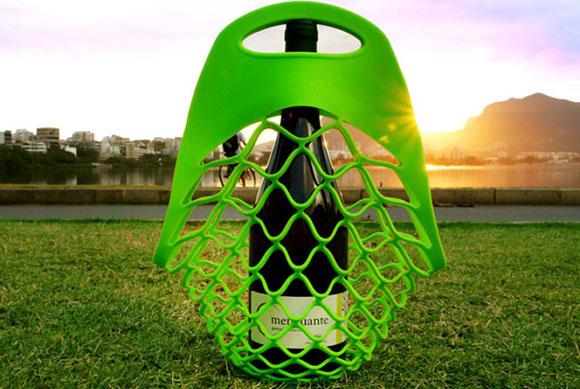 Lemon Bag, da Bold Design Company, faz referência às redes usadas para embalar limões .