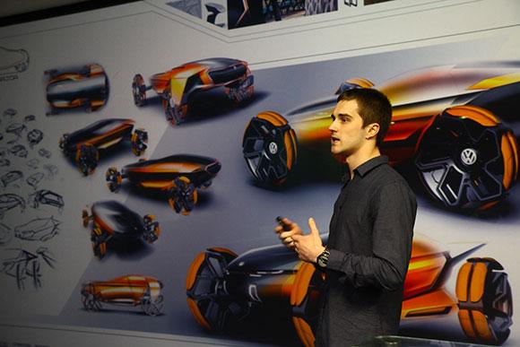 Estudante Gabriel Tomio Zonta conquistou o 1º lugar na categoria Shape Design no Talento Design 2015 com projeto Volkswagen Wide