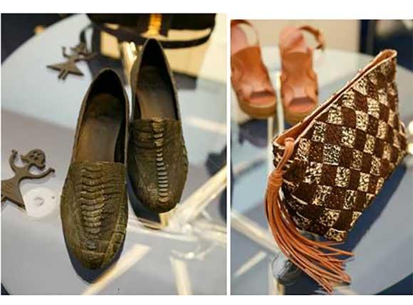 A estilista Isabela Capeto oferece consultoria para a criação de produtos em couro com práticas de pouco impacto ambiental