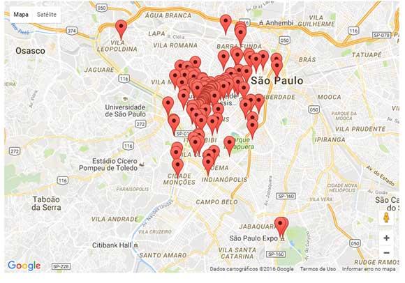 Conheça os principais locais em que encontrar os eventos do DW!