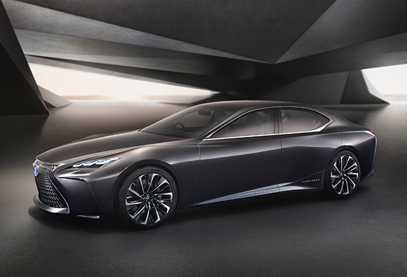 Modelo conceito Lexus  LF-FC é o primeiro estudo da marca movido a célula de combustível de alta potência