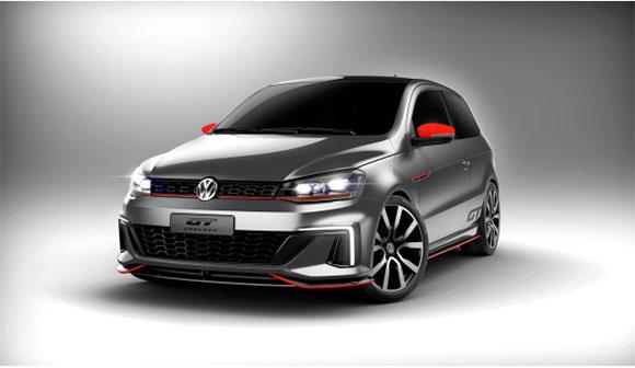 O Gol GT Concept interpreta cultura esportiva da Volkswagen e foi concebido pela equipe de Design do Brasil