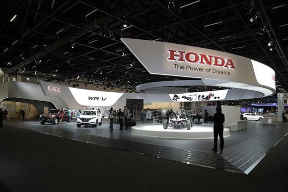Estande da Honda criado pela Agência Netza mostra novidades da montadora