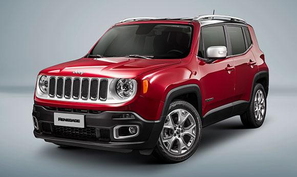 Jeep Renegade é destaque no Salão do Automóvel, inclusive na versão Limited 2017