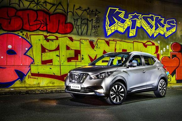 Nissan Kicks apresentado no Salão foi eleito o melhor crossover da América Latina
