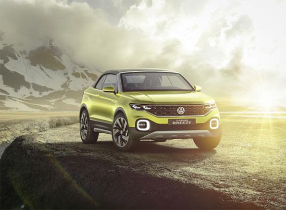 T-Cross Breeze apresenta conceito de design de um novo SUV Volkswagen