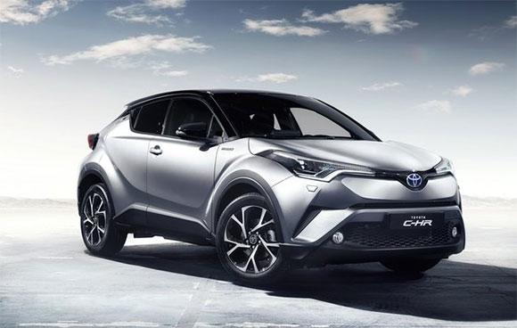 No estande da Toyota a grande estrela é o C-HR, o mais novo representante da montadora no segmento de crossovers compactos