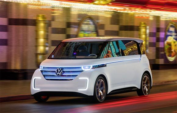 Budd-e é o primeiro carro conceito baseado no novo conceito  no Modular Electric Drive – Propulsão Elétrica Modular