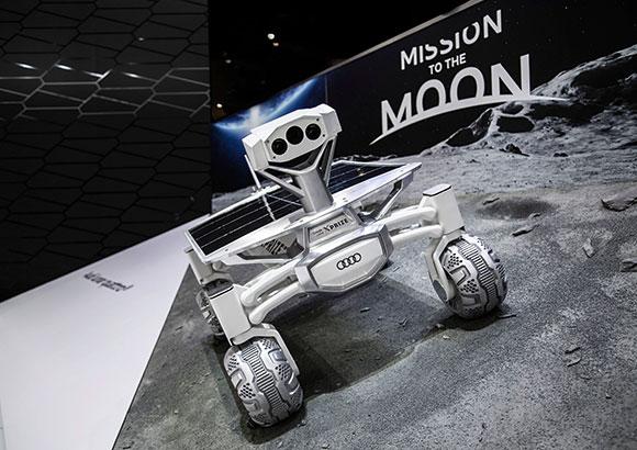 Audi Lunar Quattro criado pela Audi AG em parceria com a Part-Time Scientists