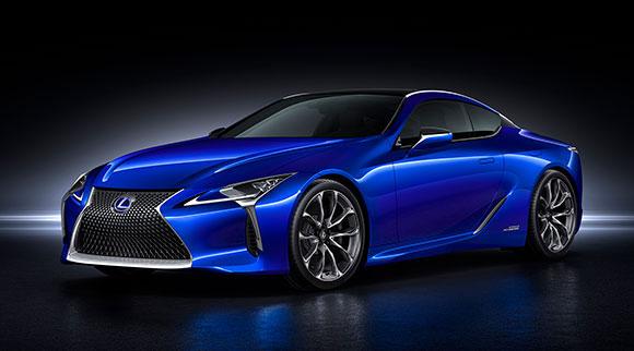 O modelo é a versão híbrida do cupê LC 500 e representa a visão integrada de design e tecnologia Lexus